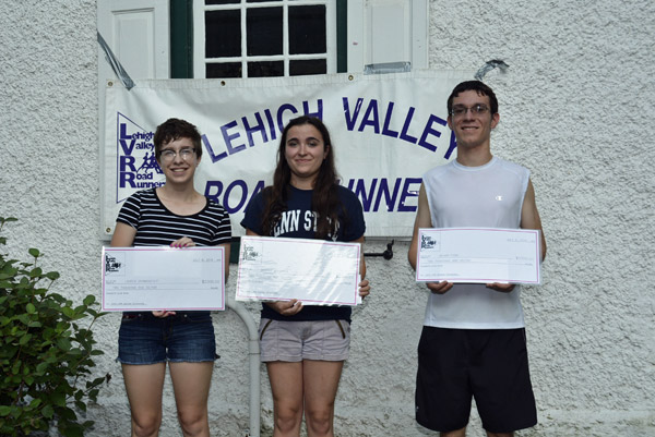 2016 LVRR Club Scholarship Winners